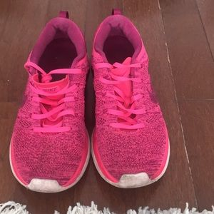 Pink Nike Gym Shoes